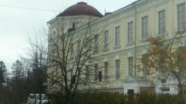 Главный корпус СибГМУ (фото Запивахин Дамиан)
