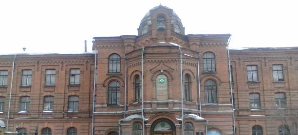 Бывшее женское епархиальное училище (фото Запивахин Дамиан)
